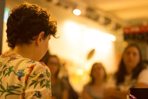 Bate Papo durante a Feira do Livro em Porto Alegre na Koralle Pintura e Desenho